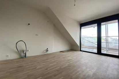 Erstbezug – Wunderschöne 2-Zimmer-Maisonette-Wohnung mit Dachterrasse