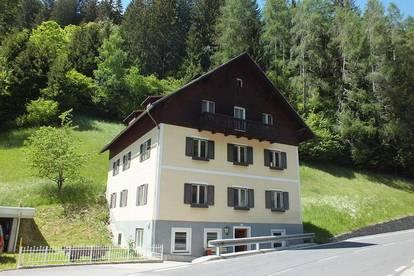 Großes Wohnhaus im Liesertal / Katschbergnähe