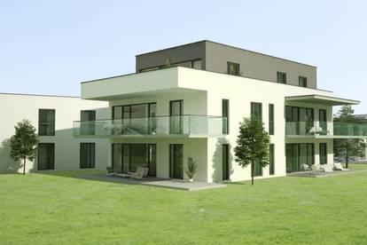 Modern geschnittene 4-Zimmer-Wohnung mit zwei großen Terrassen