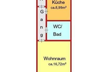 großzügige Garconniere in Geidorf - Nähe Hasnerplatz