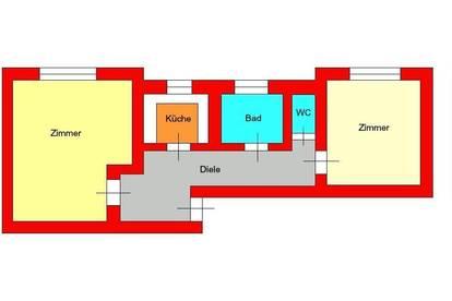 perfekte 2er WG - DG-Wohnung zwischen UNI und LKH
