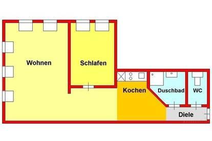 Provisionsfrei *) Helle Dachwohnung in Stilvilla bei UNI/Hilmteich/LKH