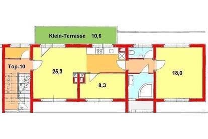 Provisionsfrei *) Schöne Penthouse-Wohnung direkt bei UNI! Rosenhain!