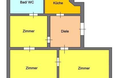 Provisionsfrei *) Großzügige 3-Zimmer Wohnung direkt beim Jakominiplatz