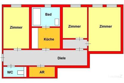 Großzügige Altbau-Wohnung in TU-Nähe