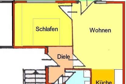 Provisionsfrei *) City-Appartement mit Loggia in BESTLAGE Leonhard