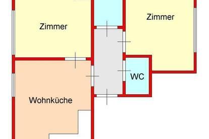 kleine 3-Zimmer-Dachgeschoßwohnung in Eggenberg / Nähe Auster und FH
