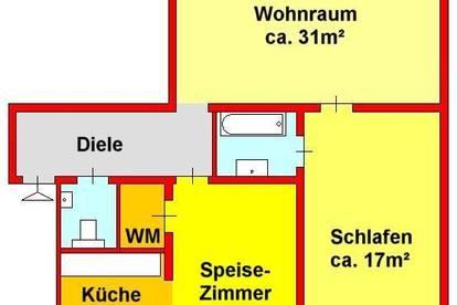 erstklassige Altbauwohnung mit Innenhofbalkon im Stadtzentrum / Dietrichsteinplatz