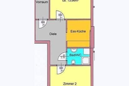 günstige 2er-WG in Geidorf - Nähe Hasnerplatz mit Top UNI-Anbindung