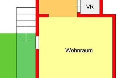 neu sanierte Gartengarconniere mit Balkon und Autostellplatz in Waltendorf - Nähe Schloss Lustbühl