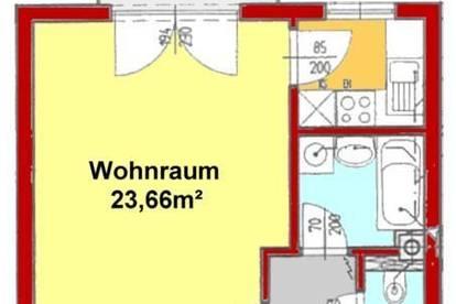 Provisionsfrei: sonnige Garconniere mit Balkon und Carport - Nähe LKH/Med-UNI