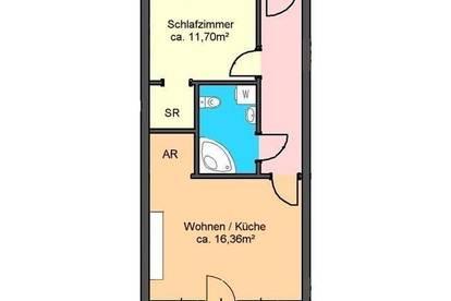 Provisionsfrei *) modernes 2-Zimmer-Apartment mit Terrasse und Garagenplatz in Andritz
