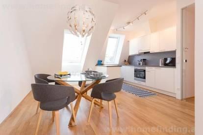 möblierte 2-Zimmerwohnung mit Terrasse - nahe U4 Hütteldorf - befristet