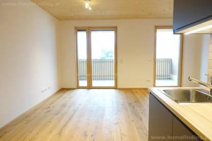 Erstbezug: Wohnen im Holzhaus I 1 Zimmer I Balkon - befristet