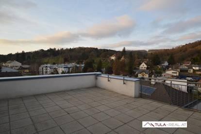 Großzügige 2-Zimmer-Wohnung mit großer Dachterrasse | Kierling | provisionsfrei