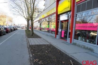 Straßenseitige Trillerpark-Geschäftsfläche in 1210 Wien zu mieten