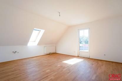 Wunderschöne 3-Zimmer-Dachgeschoß-Wohnung - zu mieten in 2483 Weigelsdorf