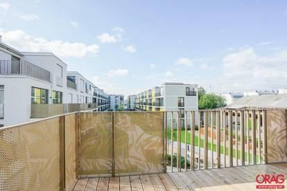 Erstbezug im Neubauprojekt ESCHENGARTEN - 3-Zimmer-Wohnung mit Balkon - zu mieten in 1230 Wien