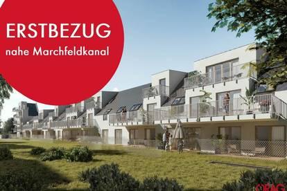 Jedes Zimmer führt in den Garten: 4-Zimmer-Wohnungen mit Kühlung in 1210 Wien zu mieten