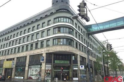Geschäftsfläche am Rennweg in einem Bürozentrum mit Außenzugang zu mieten - 1030 Wien