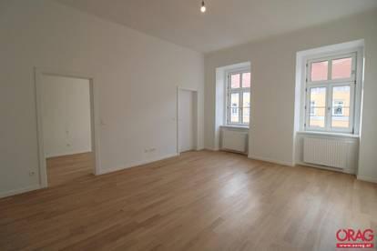Topsanierte 2-Zimmer Wohnung im Altbau nahe Hauptbahnhof - Unbefristete Miete in 1040 Wien