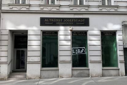 Großzügiges Geschäftslokal auf der Josefstädter Straße zu mieten