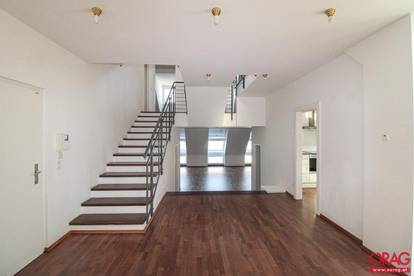 Außergewöhnliche 6-Zimmer Dachgeschoßwohnung mit 3 Terrassen nahe Freyung - Miete 1010 Wien