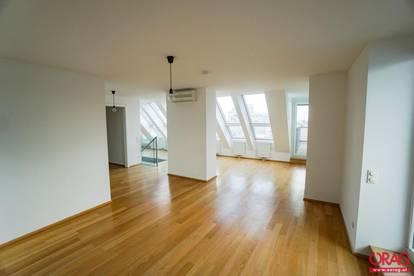 Eine Besonderheit!! Dachterrassenwohnung mit Blick über die Dächer Wiens - zur Miete in 1010 Wien