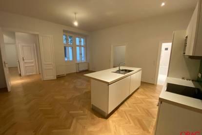Ruhige 4,5-Zimmer-Altbauwohnung auf der Mariahilfer Straße zur unbefristeten Miete in 1060 Wien