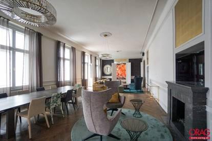 Erstbezug:Prachtvolle Altbau-Etage mit Blick auf das Naturhistorische Museum- zu kaufen in 1010 Wien