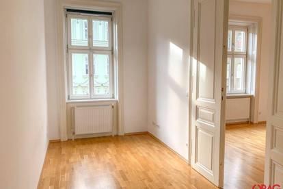 Helle Altbauwohnung mit charakteristischen Flügeltüren zur Miete in 1090 Wien / for rent