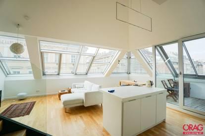 Luxuriöse 4-Zimmer-Traumwohnung mit Loggia in der Josefstadt - unbefristet zu mieten in 1080 Wien
