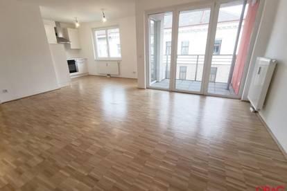 Großartige 2-Zimmer-Wohnung mit Loggia nahe Augarten und Wallensteinplatz in 1200 Wien zu mieten