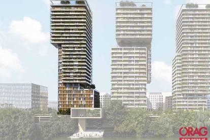 Top moderne Neubau Büroflächen in 1030 Wien zu mieten