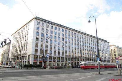 Effiziente Geschäftsfläche mit großen Auslagenfronten beim Karlsplatz/Oper   Objektbeschreibung: