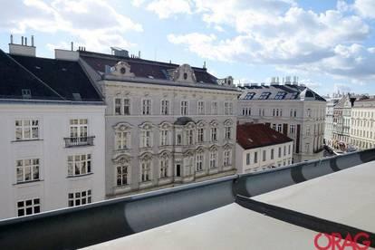 Traumhafte 4-Zimmer-Dachterrassenwohnung in einem Jahrhundertwendehaus - zur Miete in 1090 Wien