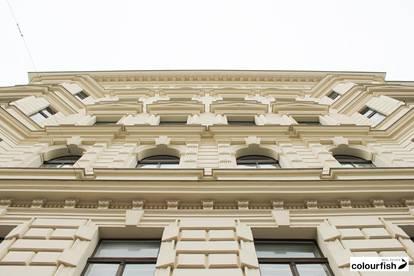 Herrschaftliches Büro beim Schottentor - Blick auf die Votivkirche