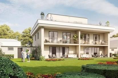 Neubau Doppelhaus in Attersee-Nähe mit eigenem Seezugang