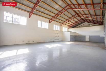 Lagerhalle, Werkstatt und Büro in TOPLAGE