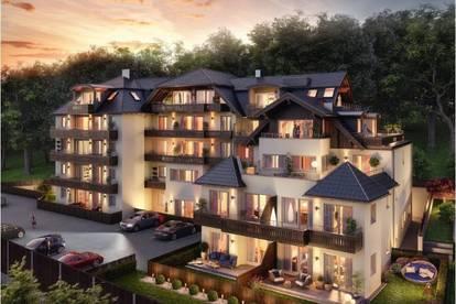 The Lakeview - Aussergewöhnliche 4 Zimmer Wohnung mit Seeblick und Gartenanteil