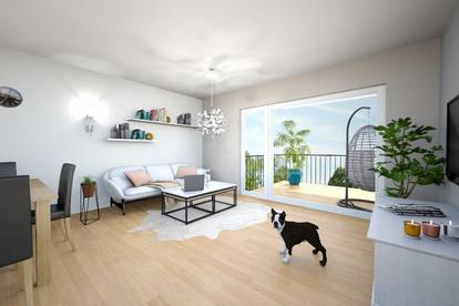 Nähe Königsseeache - 2-Zimmer-Wohnung mit Balkon
