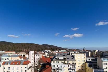 Sonnige zentrale Bestlage - herrlicher Fernblick über die Stadt Baden