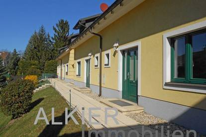 """Reihenhaus im """"grünen Dörfl"""" mit Balkon und kleinem Eigengarten"""