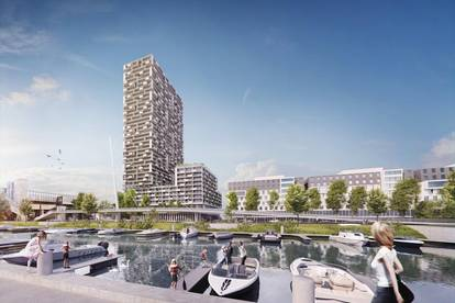 Eckwohnung - Wien's neuer Hotspot direkt am Wasser