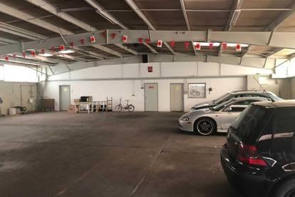 Boote, Oldtimer, sperriges Gut? ca. 1.100 m² Hallenlager- bzw. Einstellfläche südlich vom Flughafen Wien/Schwechat