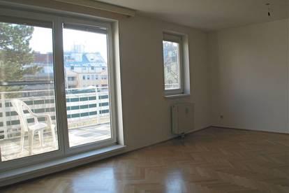 Garconniere mit 12 m² Balkon, hell, ruhig, hofseitig! - keine Straßenausrichtung