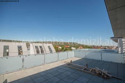 Erstbezug Maisonette mit großer Dachterrasse und Loggia, 0% Käuferprovision!