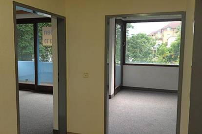 Büroetage! + 6 PKW-Abstellplätze - werbewirksame Kreuzungslage (B83/B84)
