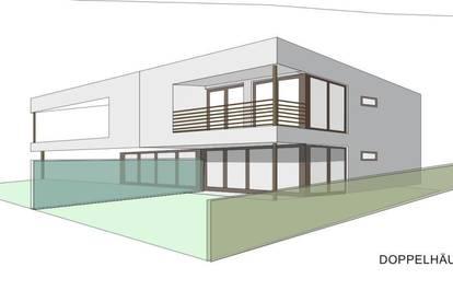 Belagsfertige Doppelhaushälfte + Neubau + 4 Zimmer + PKW Abstellplatz +Garten