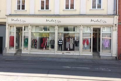 Provisionsfrei! Innerstädtisches Geschäftslokal - Ideal als Mode-Geschäft